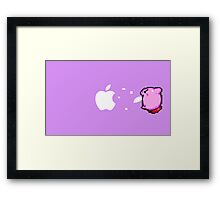 Kirby Apple Framed Print