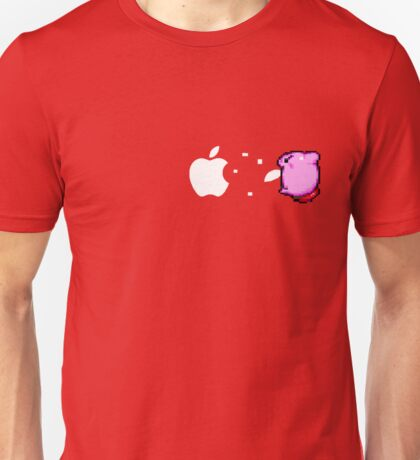 Kirby Apple Unisex T-Shirt
