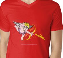 Pixel Cupid 4 Mens V-Neck T-Shirt