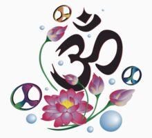 Namaste Lotus by Tracy Deptuck