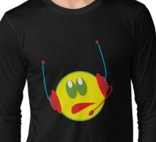 Grumpy DJ Smiley Long Sleeve T-Shirt