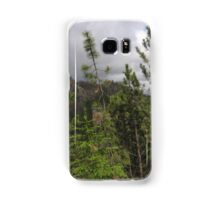 Pine Trees on the Side of a Mountain Samsung Galaxy Case/Skin