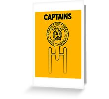 Captains Greeting Card