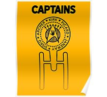 Captains Poster