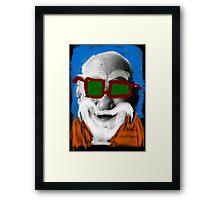 Master Roshi Framed Print