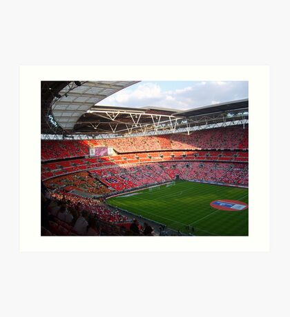 Wembley Stadium 1 June 2007 Art Print