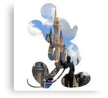 Disney World Mickey Canvas Print