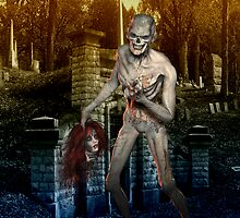 Zombie .. Dark Appetites by LoneAngel