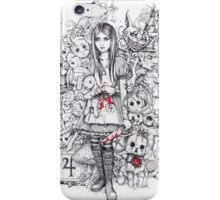 wonderland shattered iPhone Case/Skin