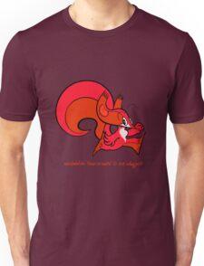 Psi Squirrel  Unisex T-Shirt