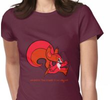 Psi Squirrel  Womens Fitted T-Shirt