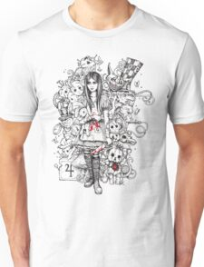 wonderland shattered Unisex T-Shirt