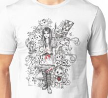 wonderland shattered Unisex T-Shirt