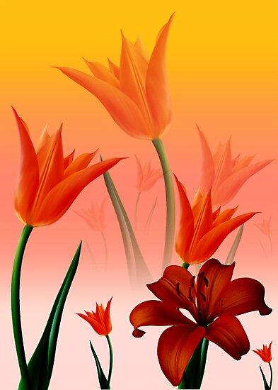Flower by ariaznet