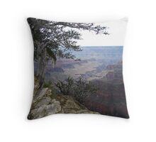 Dusk North Rim Grand Canyon Throw Pillow