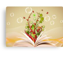 Book Canvas Print