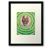 Tarman: More Brains! Framed Print