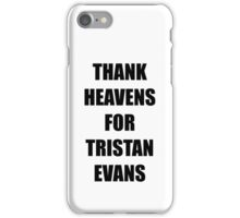 Thank Heavens for Tristan Evans The Vamps iPhone Case/Skin