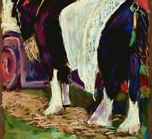 Shire Horse 1 by helikettle