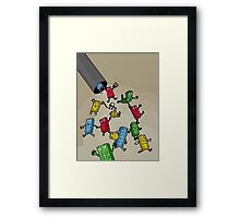 Return of the Vacuum Cleaner! Framed Print