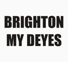 Brighton My Deyes Kids Clothes
