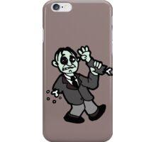 funny zombie gore walking dead iPhone Case/Skin