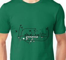 Football Soccer strategy play Diagram Unisex T-Shirt