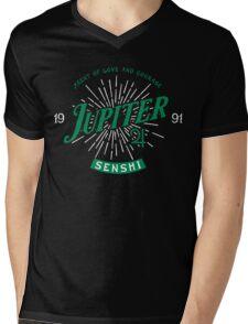 Vintage Jupiter Mens V-Neck T-Shirt