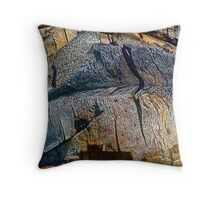 The Dark Goddess Throw Pillow