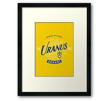 Vintage Uranus Framed Print