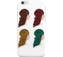 Curly Hairstyle 2 iPhone Case/Skin