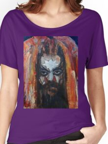 ROY WOOD Portrait. Wizzard, ELO, The Move Women's Relaxed Fit T-Shirt