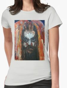ROY WOOD Portrait. Wizzard, ELO, The Move Womens Fitted T-Shirt