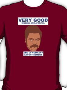 Rons Very Good Building Co. T-Shirt