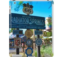 Radiator Springs Entrance iPad Case/Skin