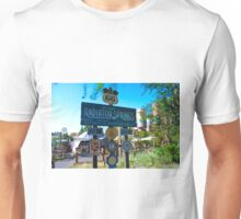 Radiator Springs Entrance Unisex T-Shirt