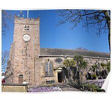 St Chads Church, Poulton le Fylde. Poster