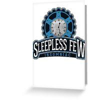Sleepless Few - Insomniac Greeting Card