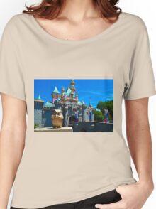 Sleeping Beauty's Castle Women's Relaxed Fit T-Shirt