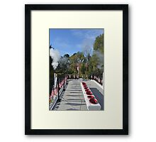 The Mark Twain Captain's View Framed Print