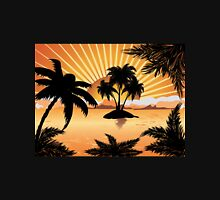 Sunset tropical island 2 Unisex T-Shirt