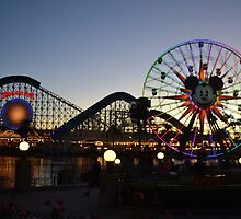 Paradise Bay at Sunset 2014 by disneydreamers