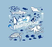 Love Aquariums (blue) Unisex T-Shirt
