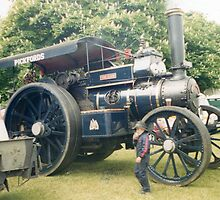 Pickfords Traction Engine by Andy Jordan