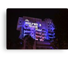Hollywood Tower Hotel Canvas Print