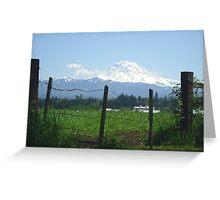 Rainier Country Greeting Card