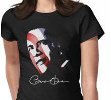 Barack Obama Pop Art  Womens Fitted T-Shirt