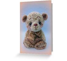 Remy - Handmade bears from Teddy Bear Orphans  Greeting Card