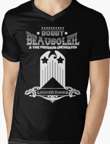 Bobby Beausoleil Lucifer Rising Design  Mens V-Neck T-Shirt