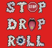 Stop, drop and roll Kids Clothes